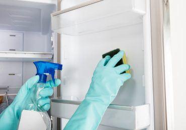 rengøring af køleskab
